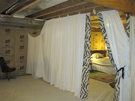 how to make a basement into a bedroom rita s sew fun fabric guest room