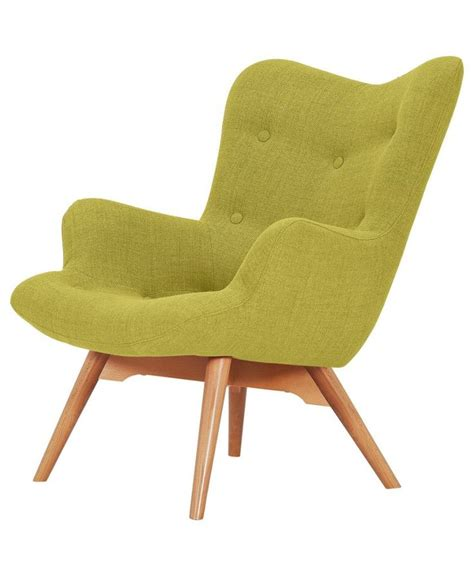 armchairs online buy hygena angel fabric chair yellow at argos co uk