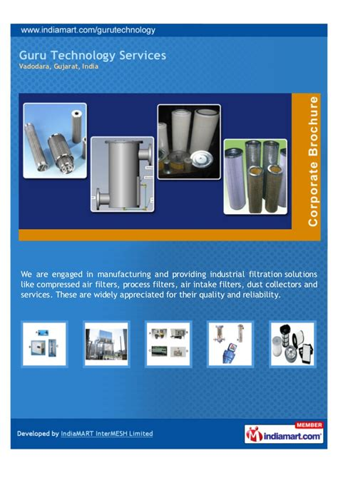 guru technology services vadodara filtration solutions