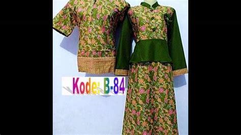 desain baju batik suami istri aneka model baju batik muslim terbaru pasangan suami istri