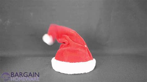 animated singing santa hat singing and santa hat mb121218