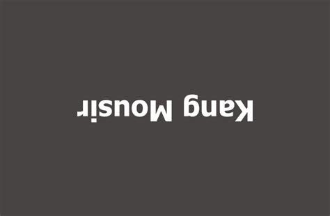 buat tulisan terbalik online cara membuat tulisan terbalik