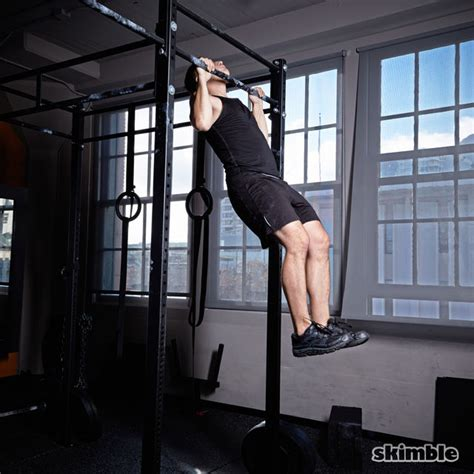 kipping swings kipping pull ups exercise how to workout trainer by