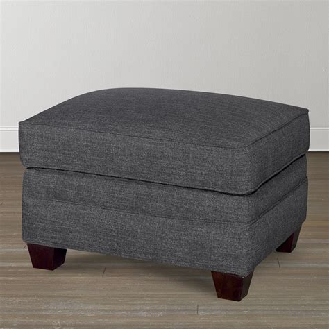 Furniture Ottoman Alex Ottoman Living Rooms Bassett Furniture