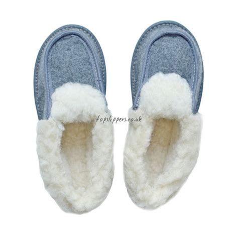 sheep wool slippers buy felt and sheep s wool slippers moccasins for