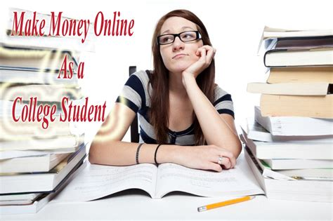 College Student Make Money Online - how to make money online for college students cdnme cloud