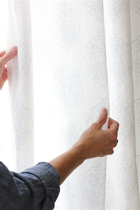 sewing curtains for beginners how to sew simple curtain panels home sewing projects