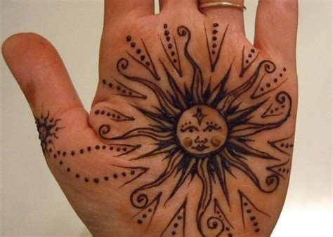 henna sun tattoo best 25 small henna tattoos ideas on small