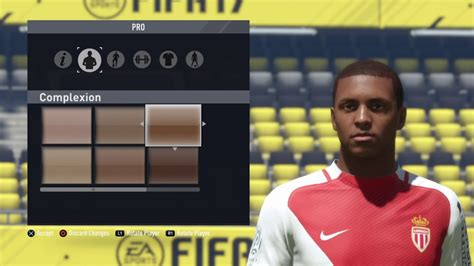 kylian mbappe in fifa 17 fifa 17 pro clubs look a like kylian mbappe youtube
