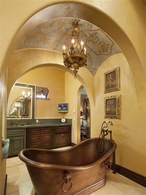 Tuscan Style Bathroom by Photo Page Hgtv