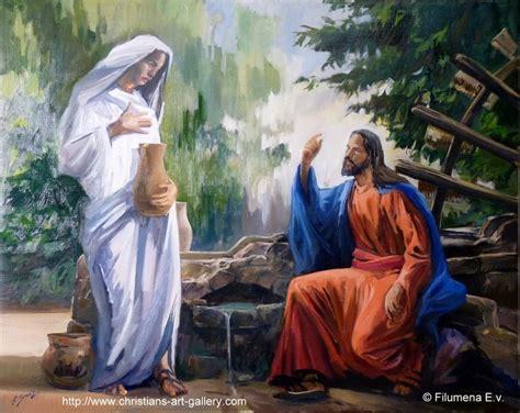 imagenes de jesus y la samaritana domingo 3 de cuaresma a dame de beber recursos