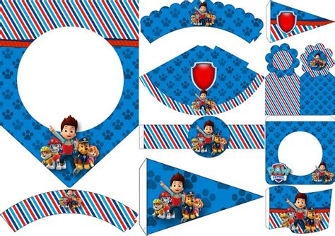 printable paw patrol birthday decorations paw patrol free party printables oh my fiesta in english