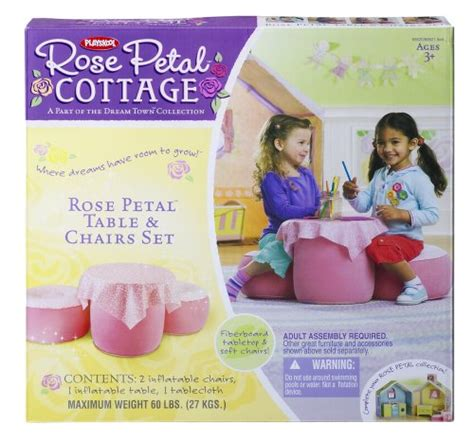 Petal Cottage Table And Chairs Set by Playskool Petal Table And Chair Dinette Petal