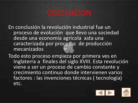 una revolucion en la revolucion industrial sosa