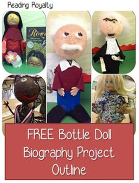 biography bottle book report 1000 images about school projects on pinterest