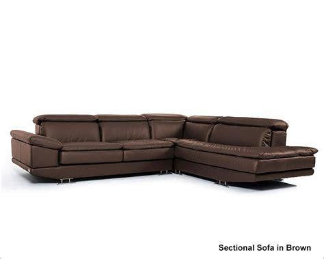 7 leather sectional sofa modern brown italian leather sectional sofa 44l5979