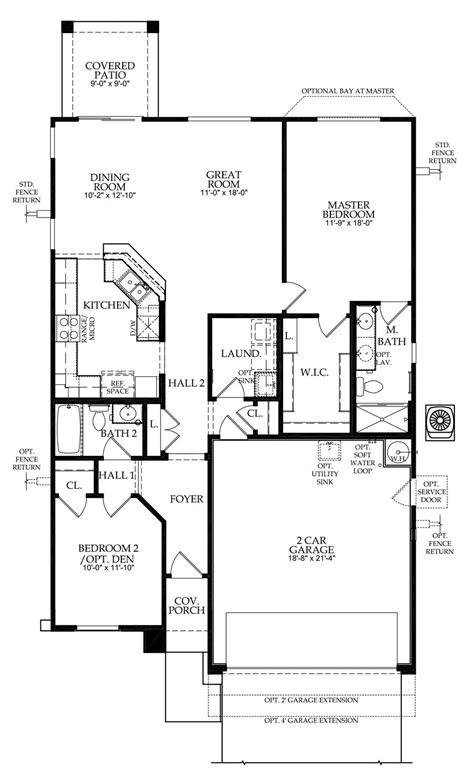 Pulte Home Plans | pulte homes floor plans arizona house design plans