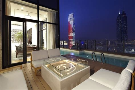 hong kong china luxury penthouses amazing duplex penthouse in china by kokaistudios homedsgn
