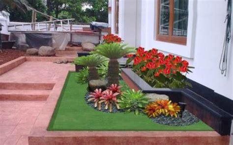 ide desain taman rumah minimalis indah sederhana