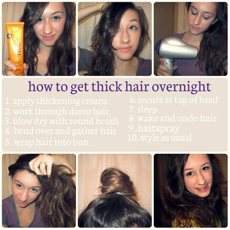 how to cut long hair to get volume at the crown girls for god overnight trick to full volume hair
