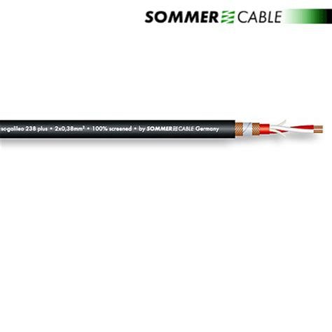 Wandle Stecker by Sommer Cable 238 Plus Sc Galileo Mikrofonkabel 1 M