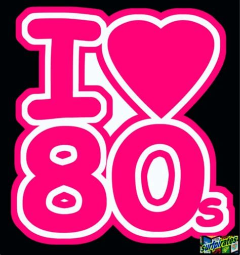 i love the 80s i love heart the 80s iron on t shirt transfer pink