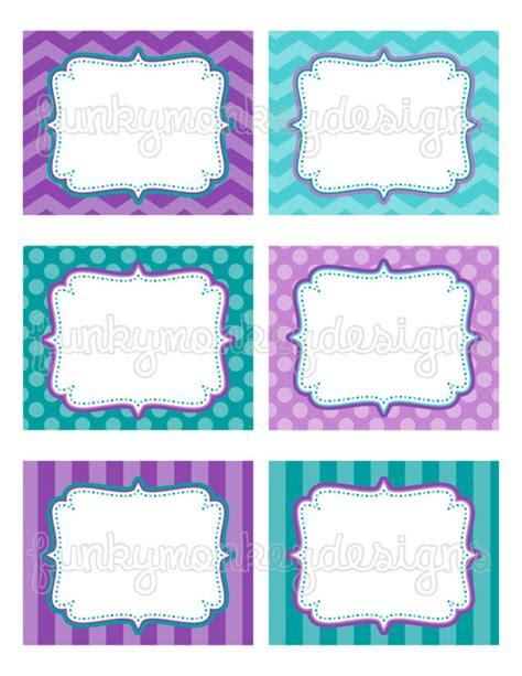 printable labels etsy items similar to diy instant download ariel little mermaid