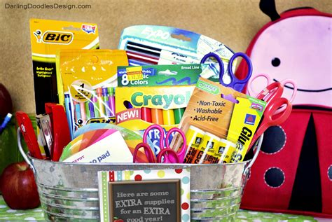 5 inexpensive back to school gifts for teachers quot quot back to school gift idea doodles