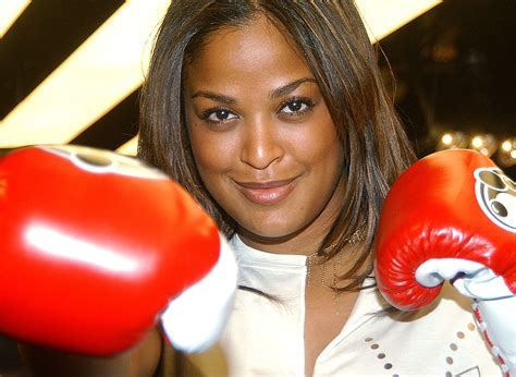 Jr Layla laila ali on fighting ronda rousey i m retired other