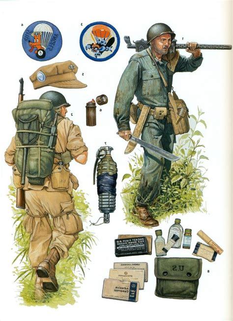 world war ii parachute infantry regiments de gordon  rottman military artwork military