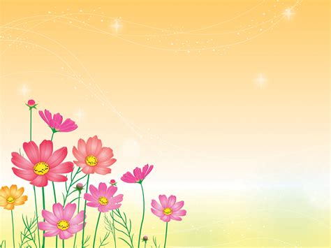 flower powerpoint template flowers garden powerpoint templates flowers