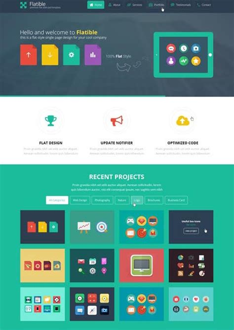layout web flat flat web design what is it and why it is the next big