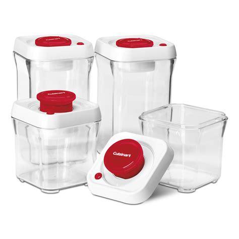 vacuum storage container cuisinart 8 fresh edge vacuum seal food storage