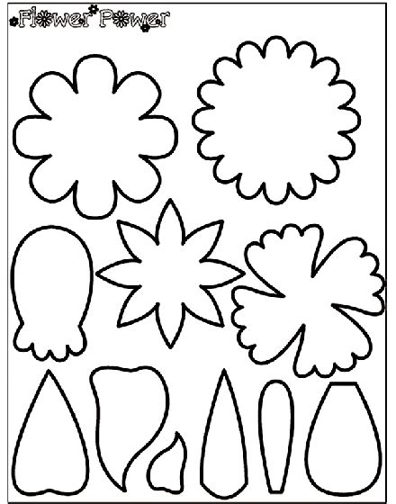 flower power 1 coloring page crayola com