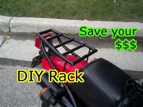 Diy Luggage Rack Motorcycle by Diy Motorcycle Luggage Cargo Rack