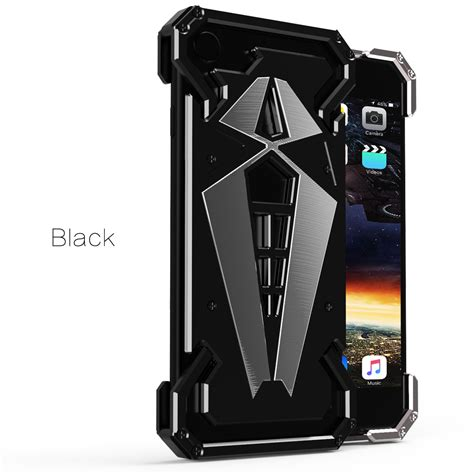 For Iphone 5 6 7 Buy 1 Get 1 cool aluminum tough armor spider metal cover for