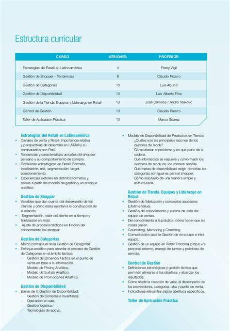 Mba Internships For Retail by Tr 237 Ptico Diplomado Internacional En Gesti 243 N De Retail