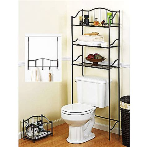 walmart bathroom storage 3 complete bathroom storage rack walmart