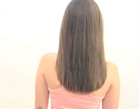 pelo corte en v corte ovalado para el cabello peinados y cortes de cabello