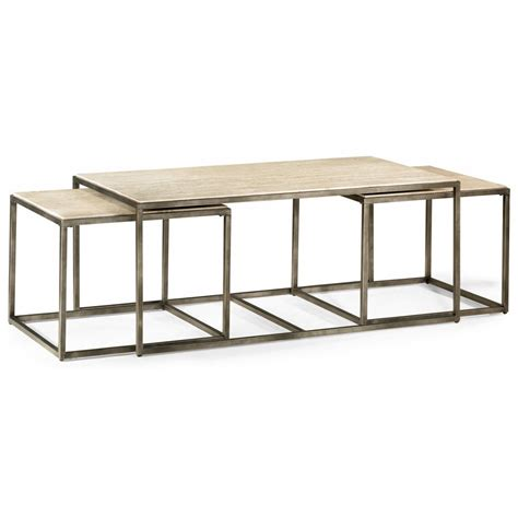 modern drink table hammary modern basics rectangular cocktail table with