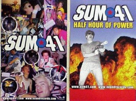 Sum 41 Half Hour Of Power Album Sum 41 Records Vinyl And Cds To Find And Out Of Print