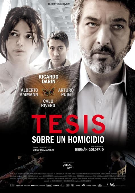 thesis tesis movie thesis on a homicide 2013 filmaffinity
