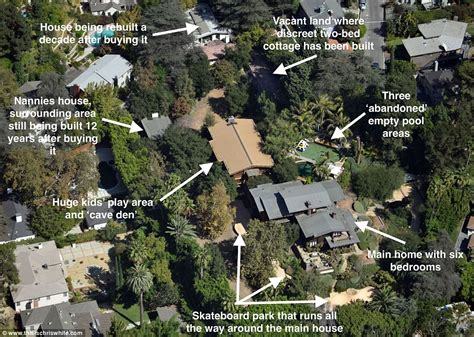 angelina jolie mansion inside brad pitt and angelina jolie s sprawling hollywood
