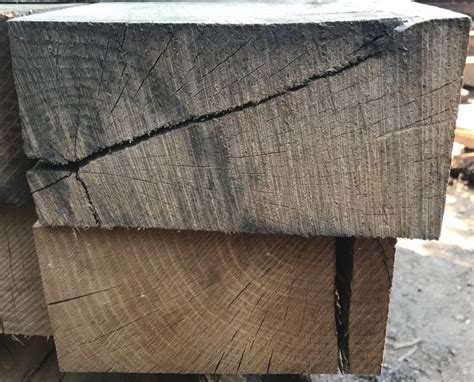 new seconds un treated oak railway sleepers 10 pack