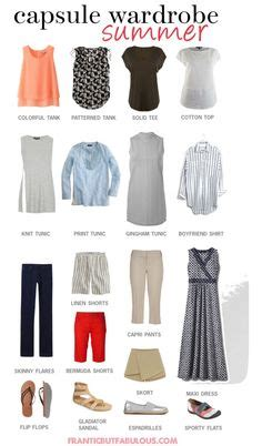 Summer Vacation Capsule Wardrobe by Autumn Workwear Capsule Wardrobe Styling You 2016