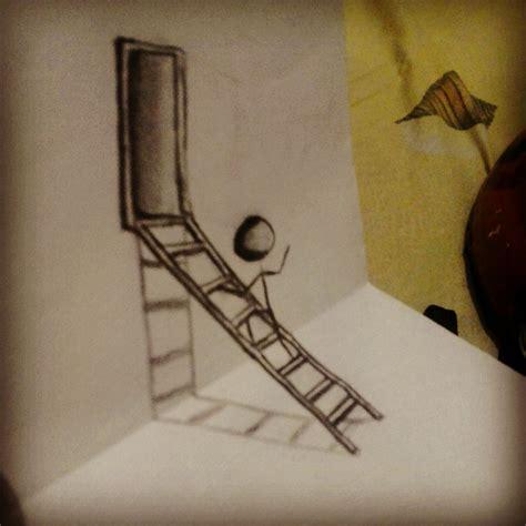 tutorial gambar 3d pencil my first 3d art by deokristady on deviantart