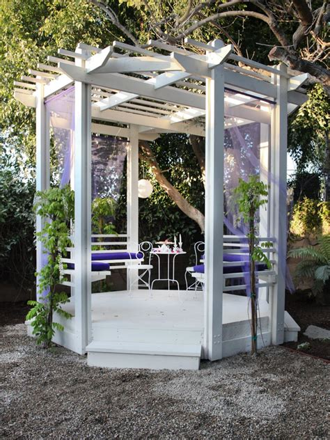 gazebo room backyard design ideas to try now landscaping ideas and hardscape design hgtv