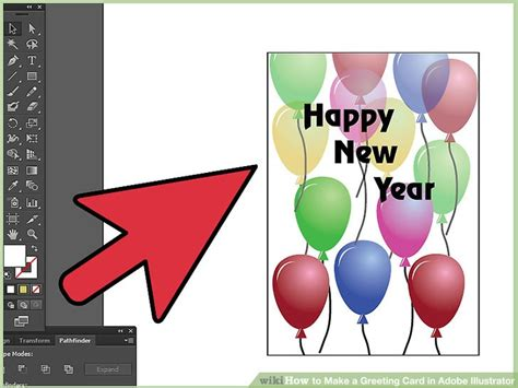 How To Make A Greeting Card In Adobe Illustrator 12 Steps Greeting Card Template Illustrator