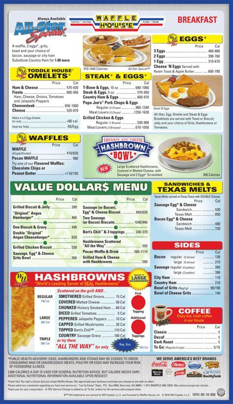 waffle house menu scranton pennsylvania menu