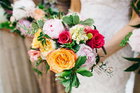 Bright Wedding Flower Picture by Bright And Pink Bridal Bouquet